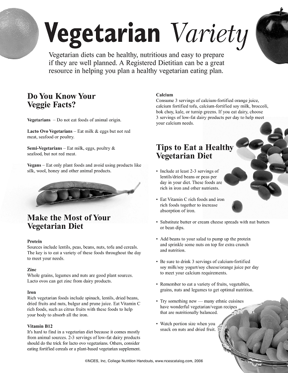 Nutrition Handout