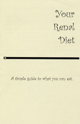 Your Renal Diet (single copy)