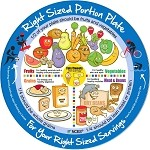Kids Right-Sized Portion Plate