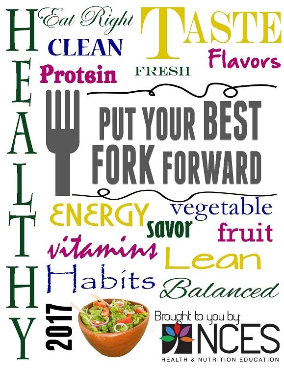2017 National Nutrition Goals