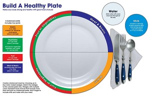 Build A Healthy Plate Bulletin Board